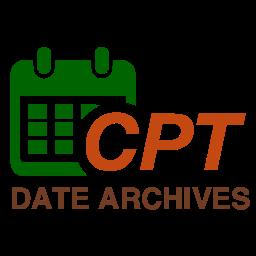 Custom Post Type Date Archives